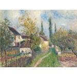 Puzzle  Grafika-00183 Alfred Sisley: Un Sentier aux Sablons, 1883