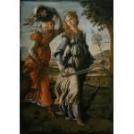 Puzzle  Grafika-00188 Botticelli Sandro: The return of Judith to Bethulia, 1872