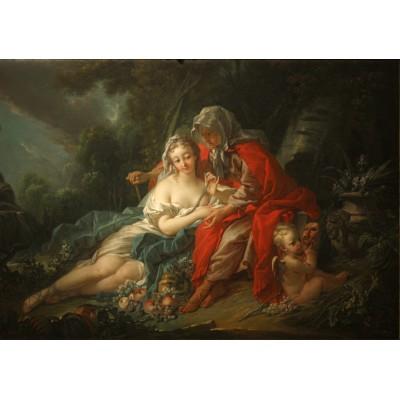Puzzle Grafika-00190 François Boucher: Vertumnus and Pomona (1749)