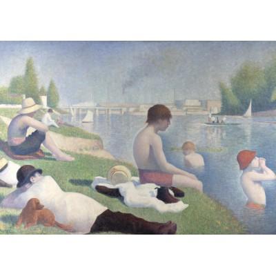 Puzzle Grafika-00194 Georges Seurat: Une baignade à Asnières, 1884