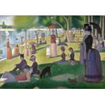 Puzzle  Grafika-00197 Georges Seurat: Un Dimanche Après-Midi à l'île de la Grande Jatte, 1884-1886
