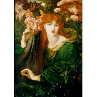 Puzzle Grafika-00220 Dante Gabriel Rossetti: La Ghirlandata, 1873