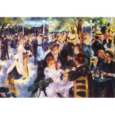 Puzzle Grafika-00226 Auguste Renoir: Bal du Moulin de la Galette, 1876