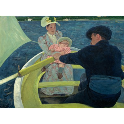 Puzzle Grafika-00233 Mary Cassatt: The Boating Party, 1893-1894