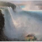 Puzzle  Grafika-00237 Frederic Edwin Church: Les Chutes du Niagara - Côté Américain, 1867