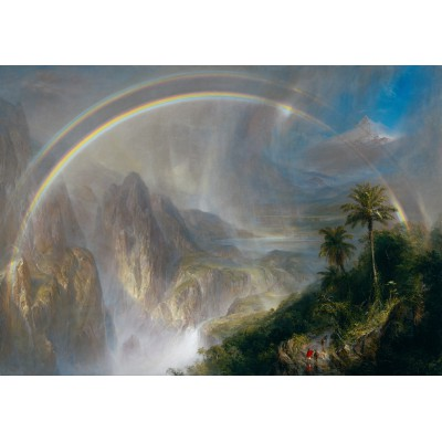 Puzzle Grafika-00239 Frederic Edwin Church: Rainy Season in the Tropics, 1866