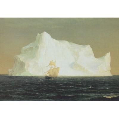 Puzzle Grafika-00240 Frederic Edwin Church: Der Eisberg, 1891