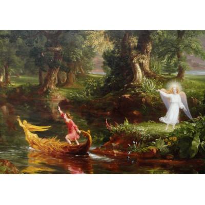 Puzzle Grafika-00242 Thomas Cole: Le voyage de la Vie - Jeunesse, 1842