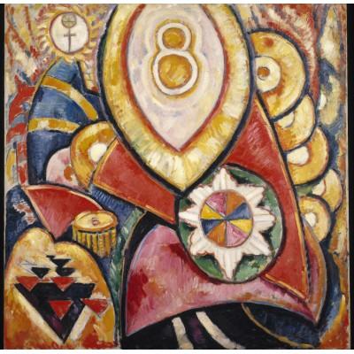Puzzle Grafika-00245 Marsden Hartley: Painting No. 48, 1913