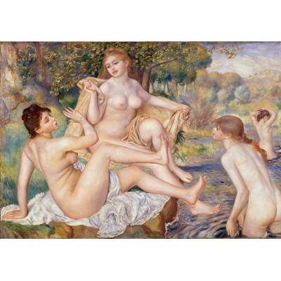 Puzzle Grafika-00257 Auguste Renoir: Les Grandes Baigneuses, 1887