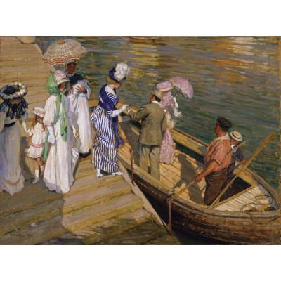 Puzzle Grafika-00258 E. Phillips Fox:The ferry, 1911