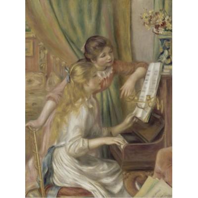 Puzzle Grafika-00260 Auguste Renoir: Jeunes filles au piano, 1892