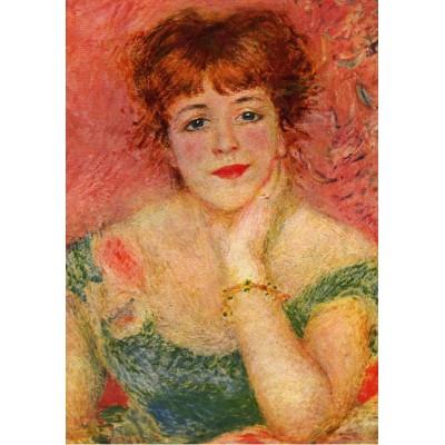 Puzzle Grafika-00269 Auguste Renoir: La Rêverie, 1877
