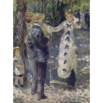 Puzzle Grafika-00270 Auguste Renoir: La Balançoire, 1876
