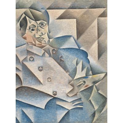 Puzzle Grafika-00290 Juan Gris: Portrait de Pablo Picasso, 1912