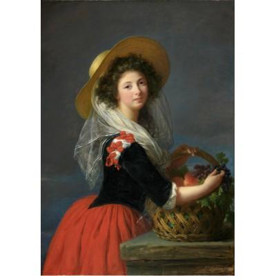 Puzzle Grafika-00302 Elisabeth-Louise Vigée Le Brun: Portrait de Marie Gabrielle de Gramont, Duchesse de Caderousse, 1784