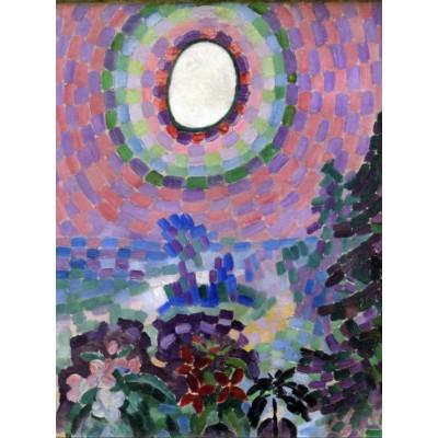 Puzzle Grafika-00314 Robert Delaunay: Paysage au disque, 1906-1907