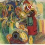 Puzzle  Grafika-00315 Robert Delaunay: La Grande Portugaise, 1915