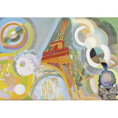 Puzzle Grafika-00317 Robert Delaunay: Air, Fer et Eau, 1937