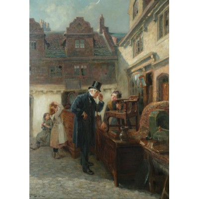 Puzzle Grafika-00337 Ralph Hedley: Real Antique, 1902