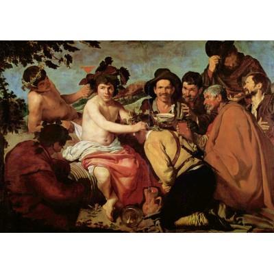 Puzzle Grafika-00341 Diego Vélasquez: Le Triomphe de Bacchus, 1628-29
