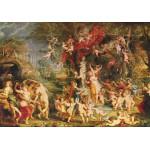 Puzzle  Grafika-00349 Peter Rubens: La Fête de Vénus, 1635
