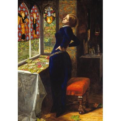 Puzzle Grafika-00361 John Everett Millais: Mariana, 1851