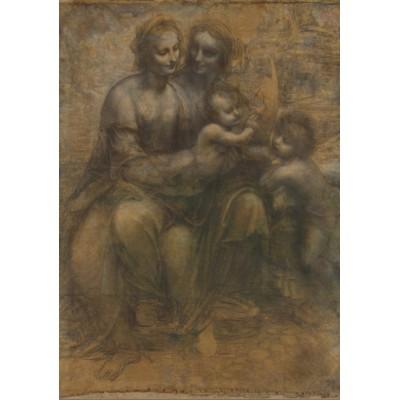 Puzzle Grafika-00363 Leonardo da Vinci
