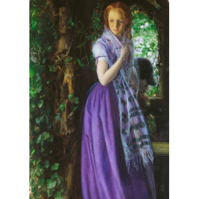 Puzzle Grafika-00365 Arthur Hughes: April Love, 1855