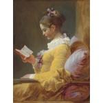 Puzzle  Grafika-00390 Jean-Honoré Fragonard: La Liseuse, 1770-1772