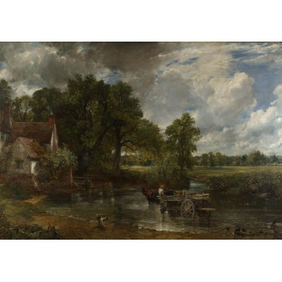 Puzzle Grafika-00400 John Constable: La Charette de Foin, 1821