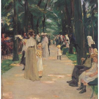 Puzzle Grafika-00405 Max Liebermann: Allée des Perroquets, 1902