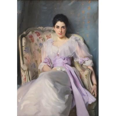 Puzzle Grafika-00413 John Singer Sargent: Lady Agnew of Lochnaw, 1893
