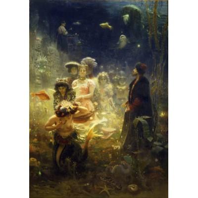 Puzzle Grafika-00421 Ilya Repin: Sadko, 1876