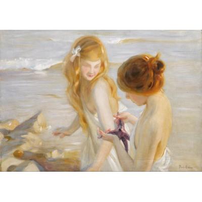 Puzzle Grafika-00422 Paul Chabas: Deux Jeunes Filles à l'Etoile de Mer