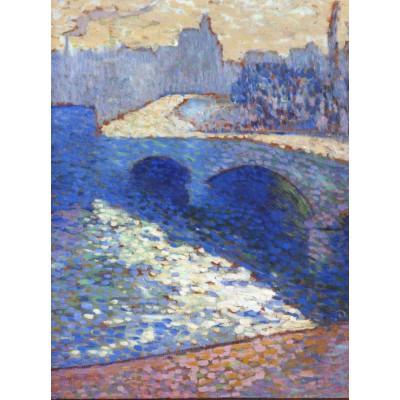 Puzzle Grafika-00424 Robert Antoine Pinchon: La Seine à Rouen au Crépuscule, 1905
