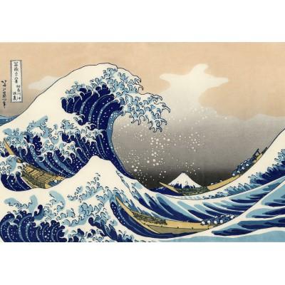 Puzzle Grafika-00430 Katsushika Hokusai: La Grande Vague de Kanagawa, 1823-1829
