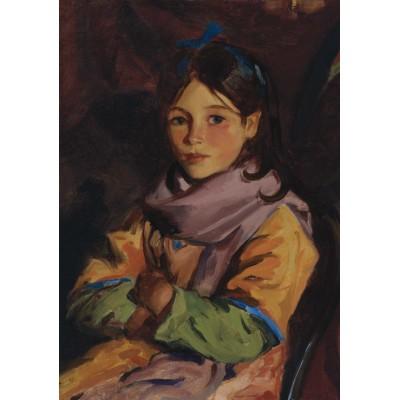 Puzzle Grafika-00432 Robert Henri: Mary Agnes, 1924