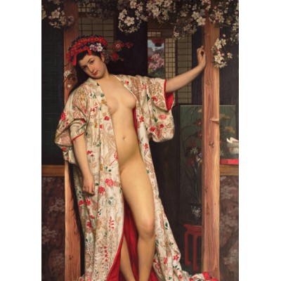 Puzzle Grafika-00444 James Tissot: La japonaise au Bain, 1864