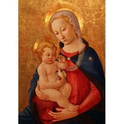 Puzzle Grafika-00447 Master of the Castello Nativity: La Vierge et l'Enfant, 1460