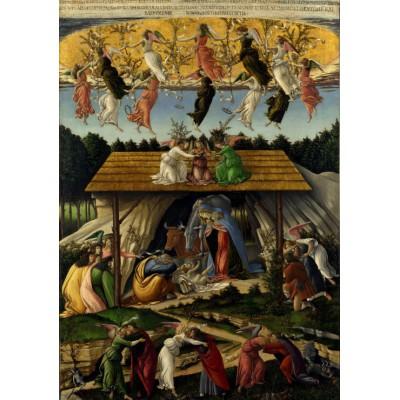 Puzzle Grafika-00448 Botticelli Sandro: La Nativité Mystique, 1500-1501