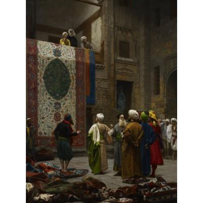 Puzzle Grafika-00450 Jean-Léon Gérôme: Marchand de Tapis au Caire, 1887