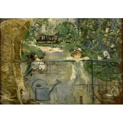 Puzzle Grafika-00476 Berthe Morisot: La Chaise en Osier, 1882