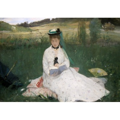 Puzzle Grafika-00477 Berthe Morisot: La Lecture, 1873
