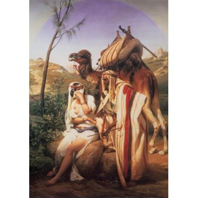 Puzzle Grafika-00483 Horace Vernet: Judas et Tamar, 1840
