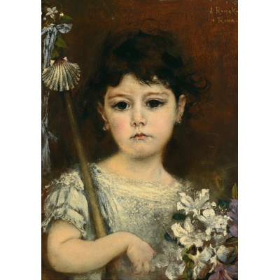 Puzzle Grafika-00486 Anton Romako: Mathilde, 1870