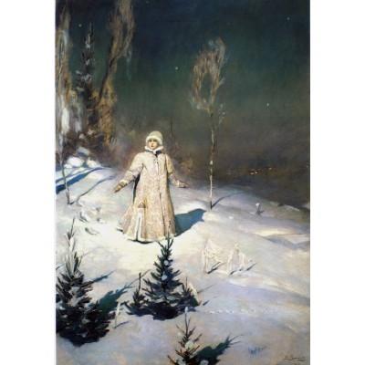 Puzzle Grafika-00491 Victor Vasnetsov: Snégourotchka, 1899