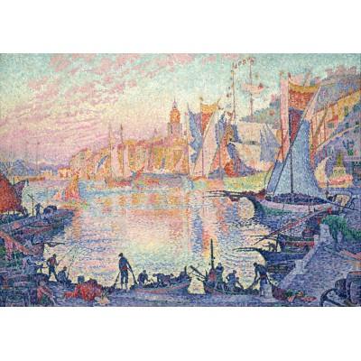 Puzzle Grafika-00492 Paul Signac: Le Port de Saint-Tropez, 1901