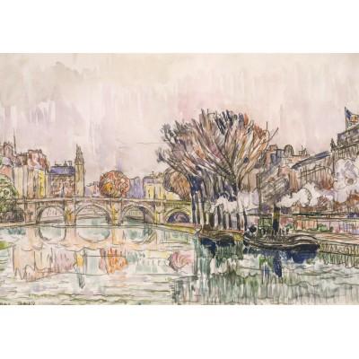 Puzzle Grafika-00494 Paul Signac: Le Pont Neuf - Paris, 1928