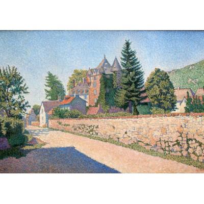 Puzzle Grafika-00495 Paul Signac: Le Chateau de Comblat, 1887